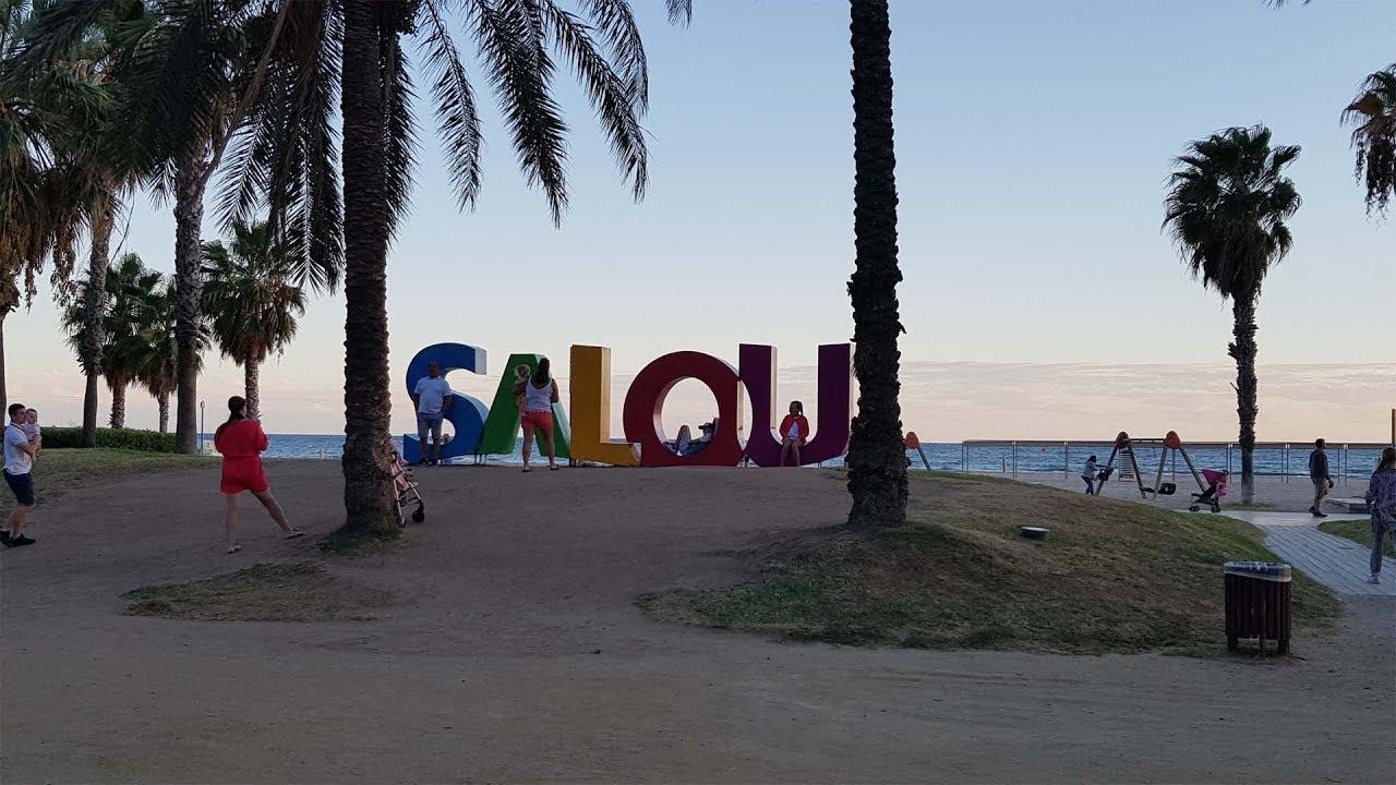 Испания в октябре 2018г  ч 1  Salou