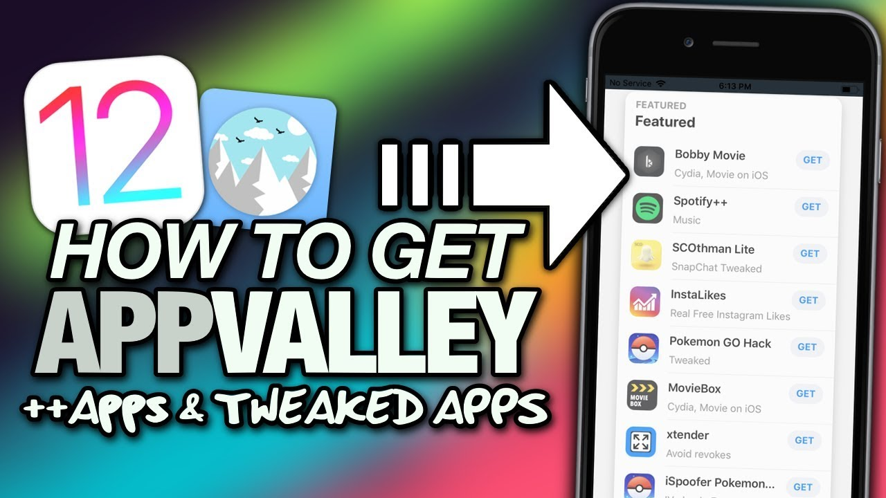 How To Get APPVALLEY On iOS 12 Tweaked Apps - Hacked Apps - Cydia Apps