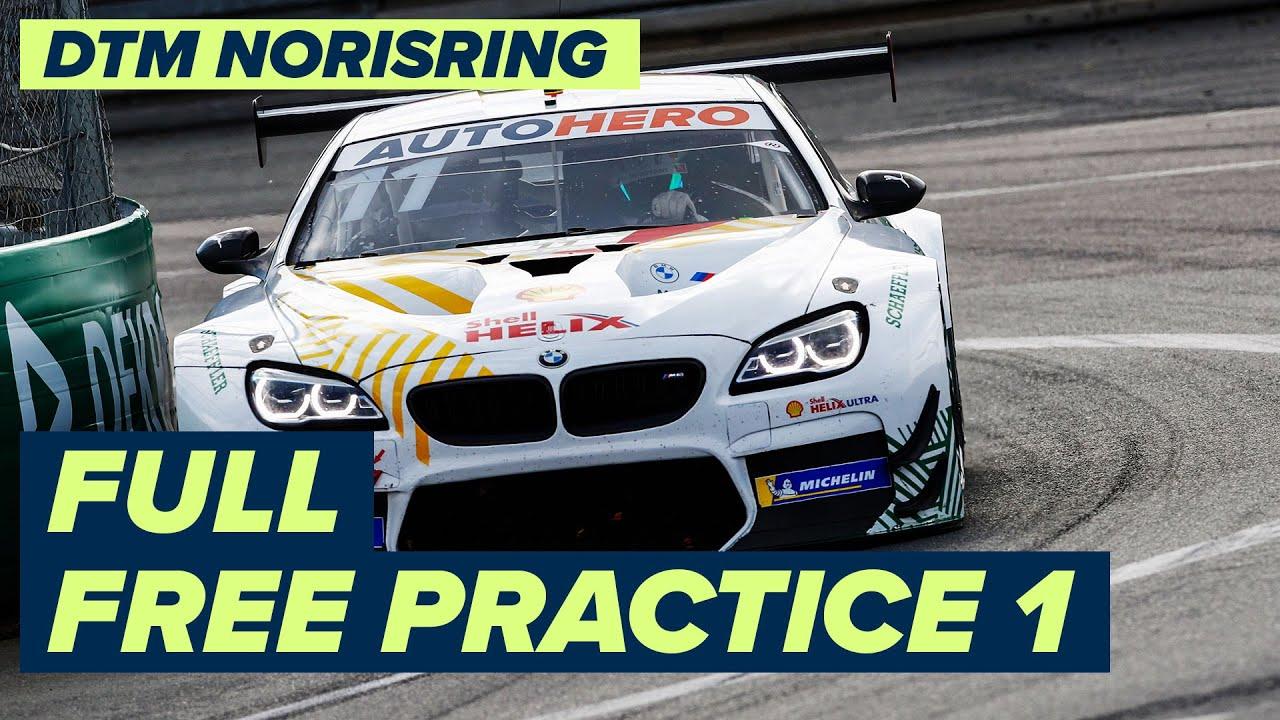 RE-LIVE | DTM Free Practice 1 - Norisring | DTM Norisring powered by BWT Season Finale 2021