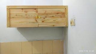 Cara Membuat Lemari Dinding Dapur Dari Kayu Brkas Pallet
