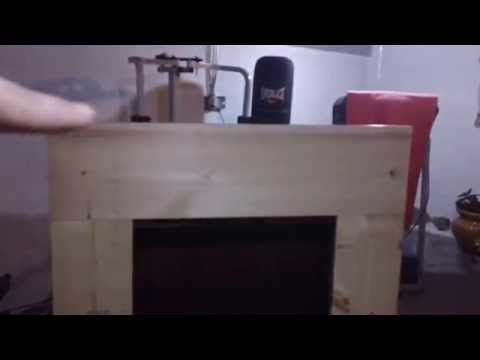 We built a fake Fireplace!