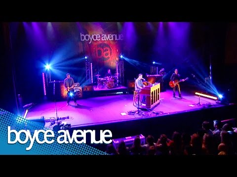 Music video Boyce Avenue - Broken Angel (Live)
