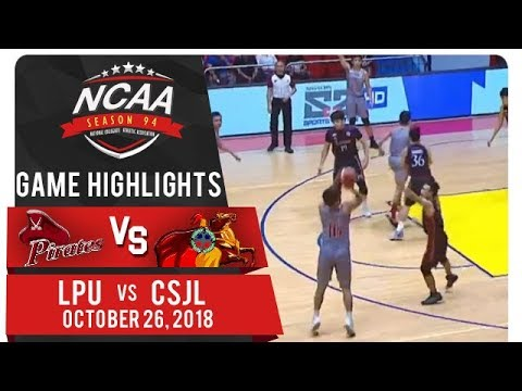 NCAA 94 MB: LPU vs. CSJL | Game Highlights | October 26, 2018