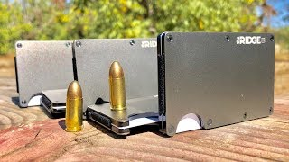 How Many Titanium Wallets does it take to stop a bullet?