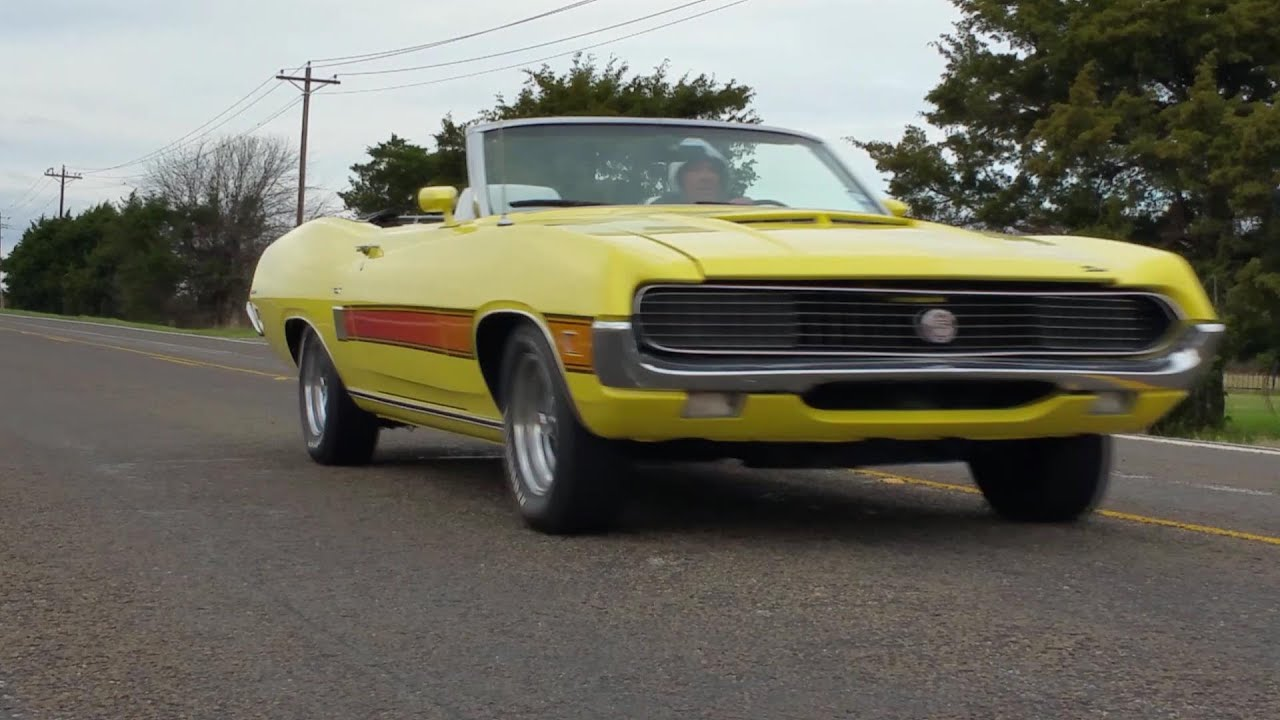 1970 Ford Torino GT 351 4V Muscle Car - YouTube