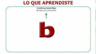 TALLER DE ORTOGRAFIA USO CORRECTO DE LA * B *