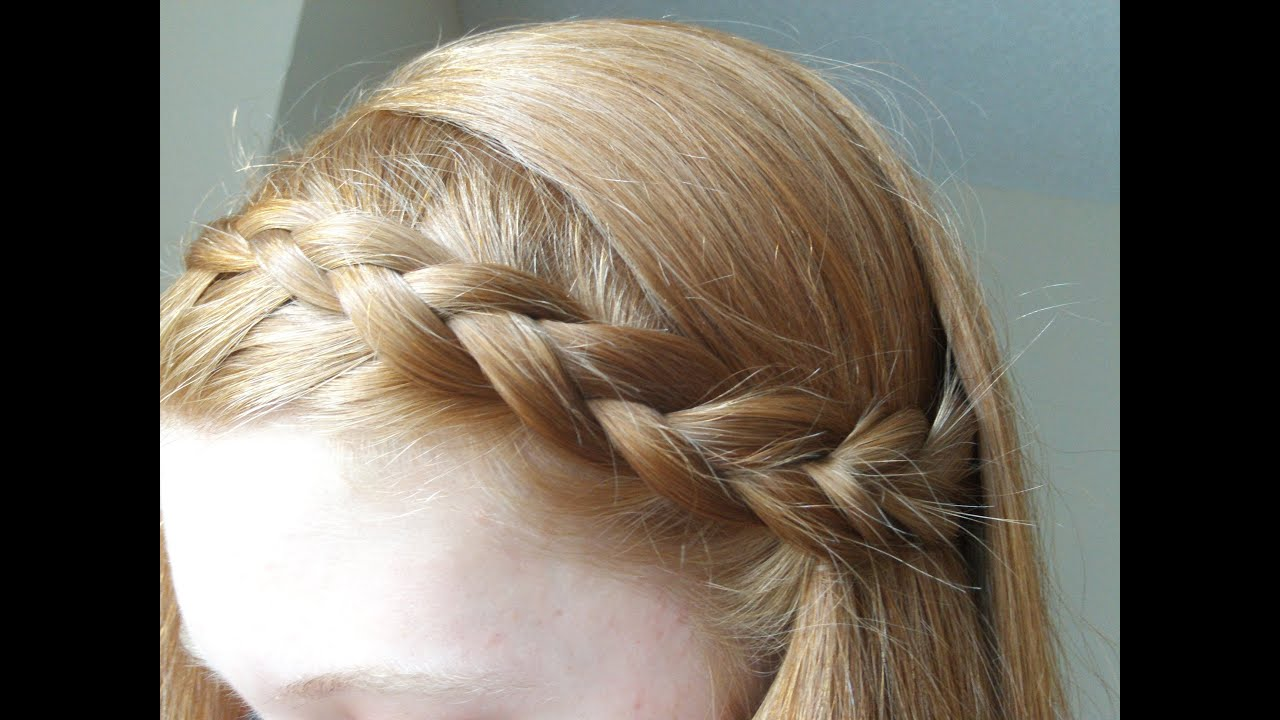 French braid hairstyles steps