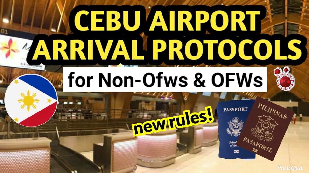 NEW ARRIVAL PROTOCOL IN CEBU FOR OFWs & NON-OFWs|Who stays in the hotel for 3 days only? PHILIPPINES