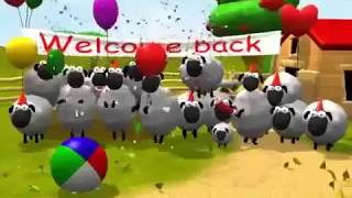 Kartun anak   Shaun the sheep   Bermain Bola