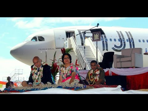 Fijian President HE President Major General (Ret'd) Jioji Konrote brings home 'Island Of Rotuma'.