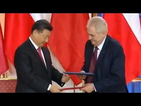 Full Video: China, Czech Republic sign deals