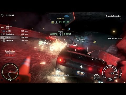 Need For Speed Rivals - Simply Jaguar & Ferrari Edizioni Speciali DLC - All Cop cars, online