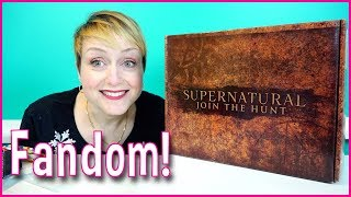 Supernatural Subscription Box from Culturefly Unboxing