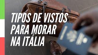 Como morar legalmente na Itália sem ter direito à cidadania italiana?