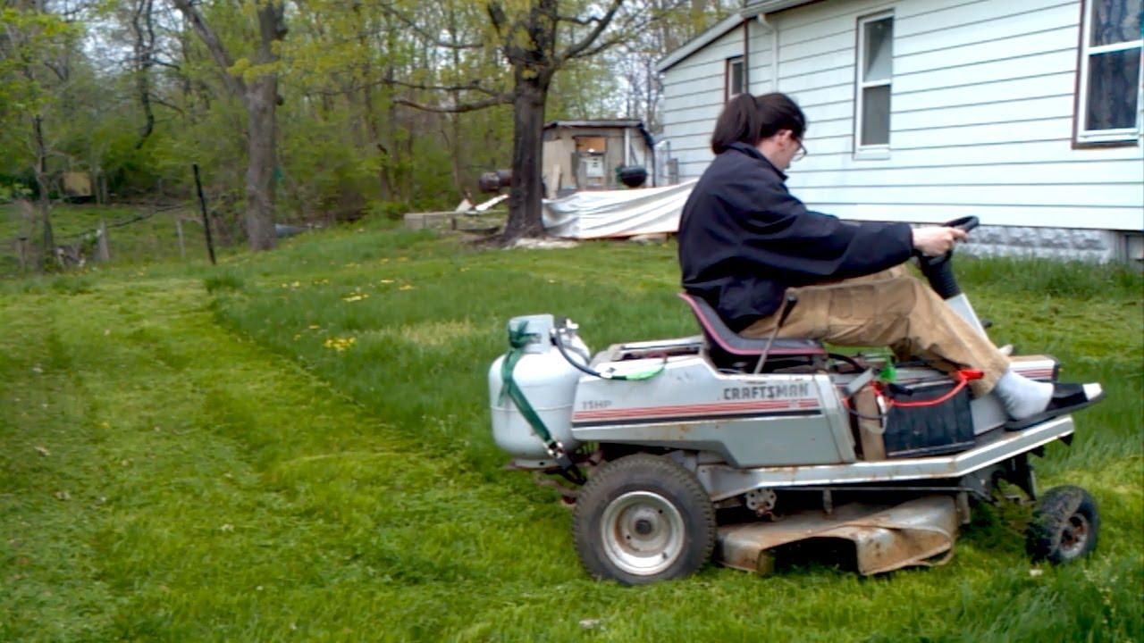 Diy Propane Lawn Mower Conversion Youtube
