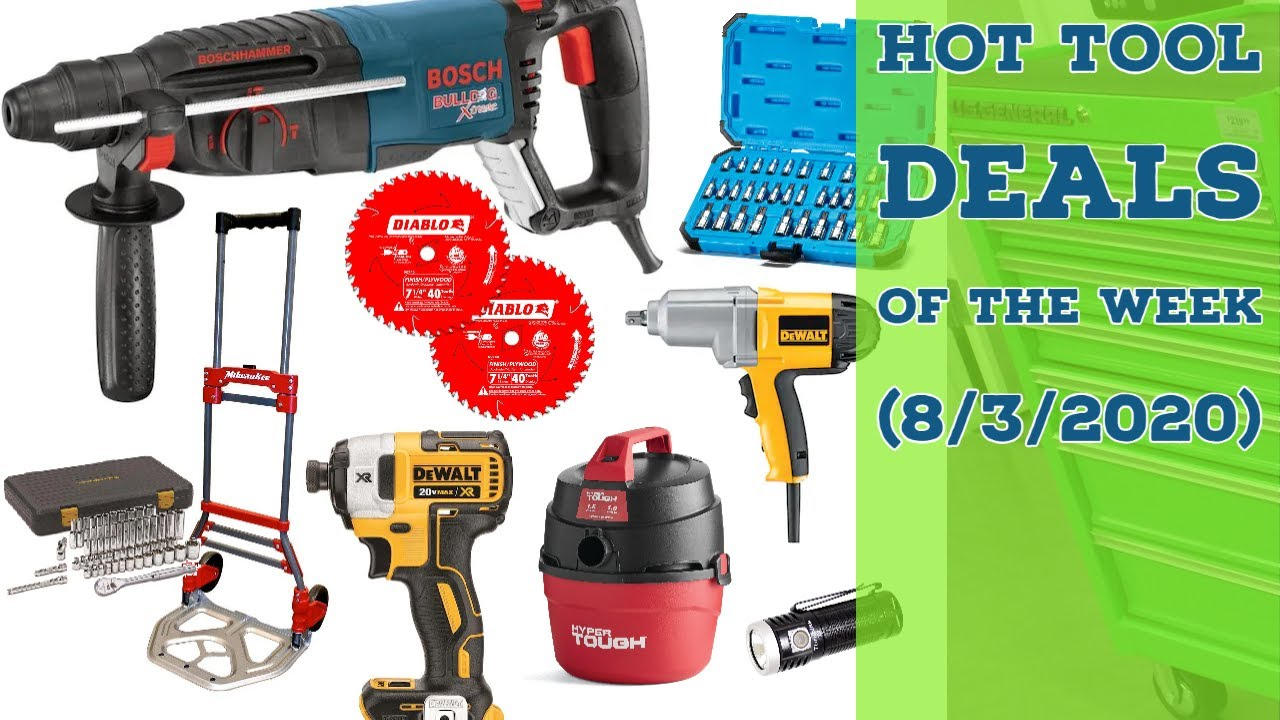 Hot & Spicy Tool Deals of the Week! (HF Parking Lot Sale?) #DoTDotW 8/3/2020