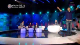 Louis Smith and Adam Hills show off their gymnastics skills | Red Nose Day 2013