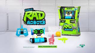 MiBro from Really RAD Robots - Your Robot Partner in Fun!