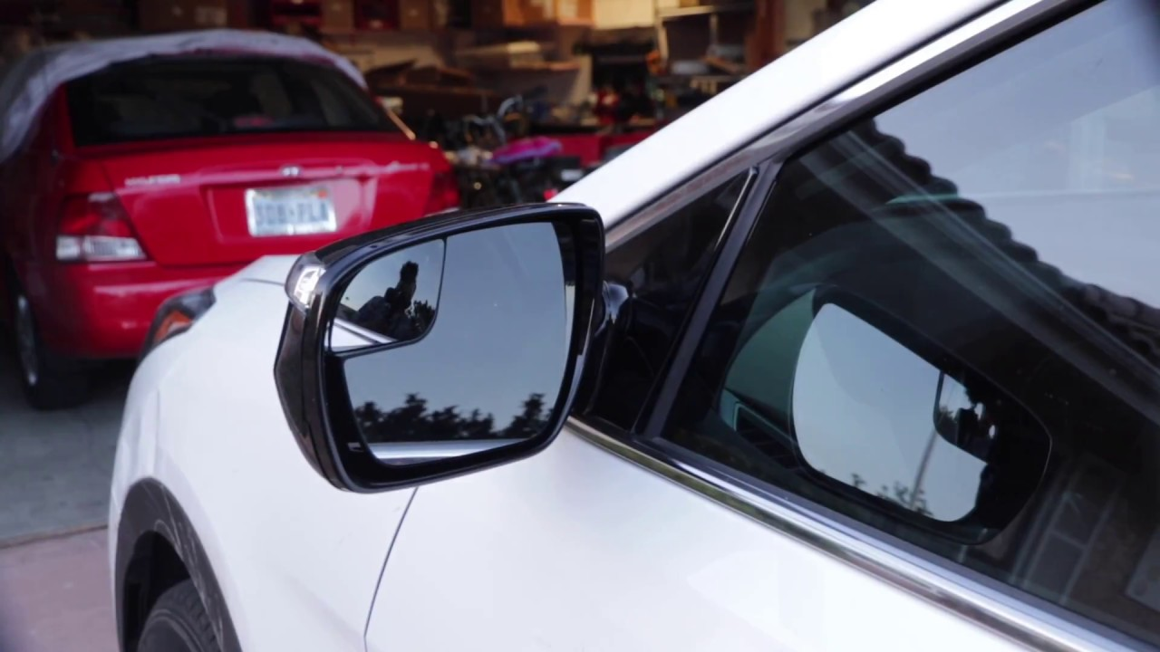How To Replace The Side Rear View Mirror Of A Hyundai Santa Fe Sport
