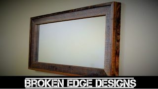 RECLAIMED Mirror Frame