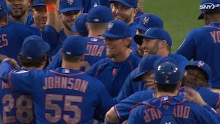 Familia fans Bruce, Mets clinch the NL East