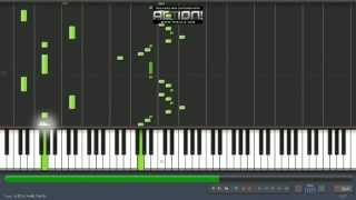 how to play romeo santos feat. usher - promise piano tutorial synthesia by Misael