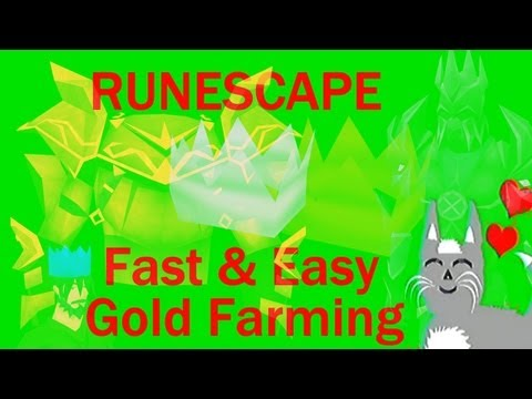 Old School Runescape How To: Get fast and easy gold | GP Farming guide to getting rich!