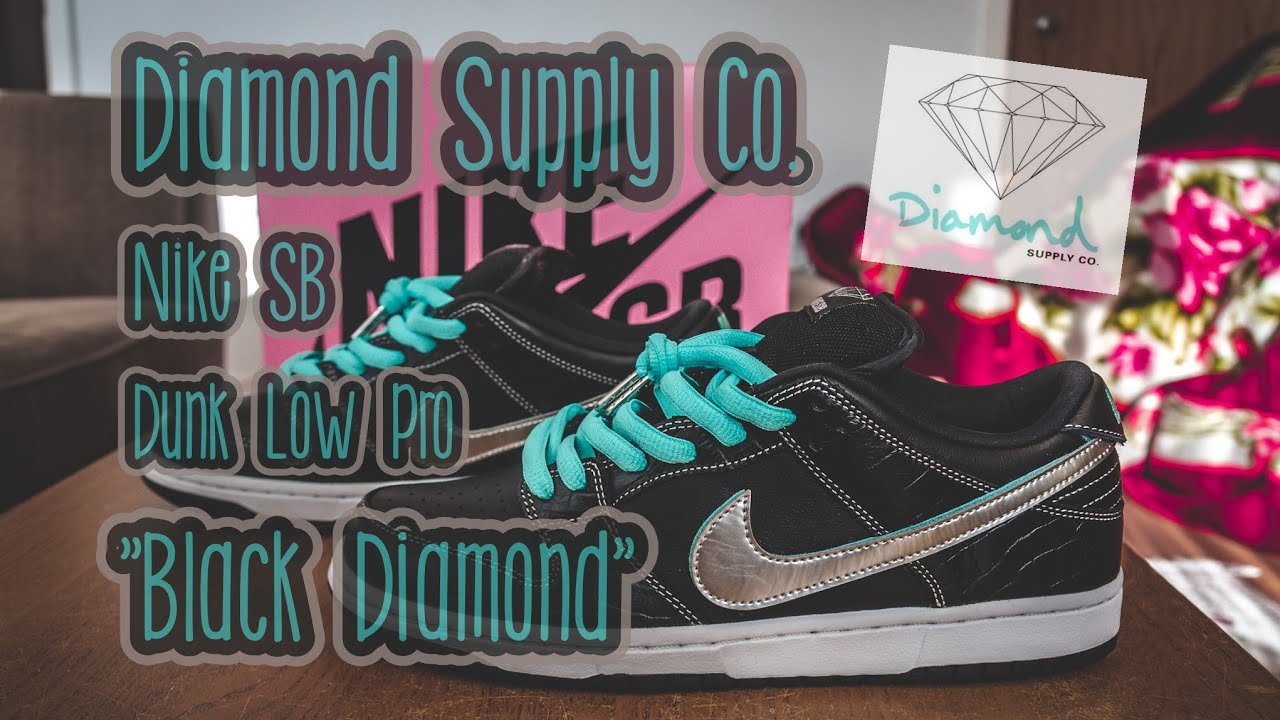 6cd8da98aab1 Diamond Supply Co. x Nike SB Dunk Low Pro