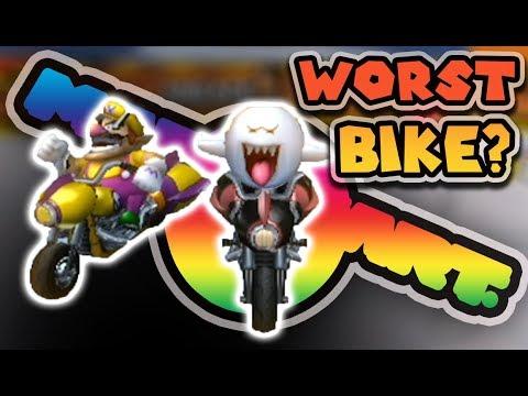 THE WORST Bike in Mario Kart Wii