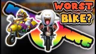 THE WORST Bike In Mario Kart Wii