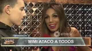 Mimi salió a bailar Cumbia pop súper afiladísima