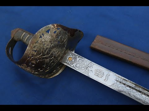 Backsword-Bladed Victorian Officer's Sword By Wilkinson