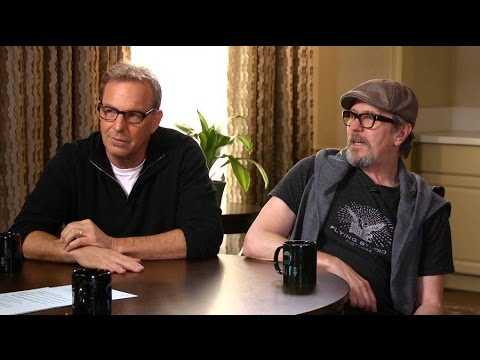 "Kevin Costner & Gary Oldman on ""Criminal""- live at Larry King Now"