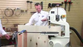 Accuright™ Circle Cutting Jig Cutting Larger Circles.