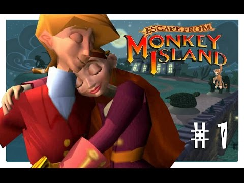 Escape from Monkey Island (Action adventure PC game)
