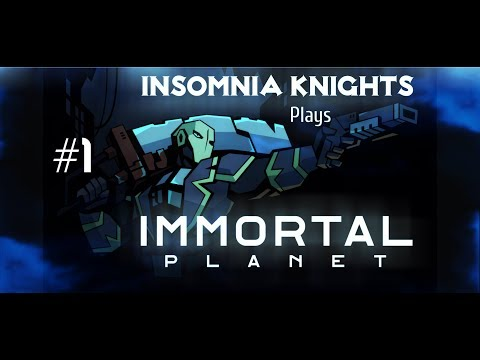 Let's Play Immortal Planet - Part 1 - Awoken. Isometric Action RPG Souls-Like.