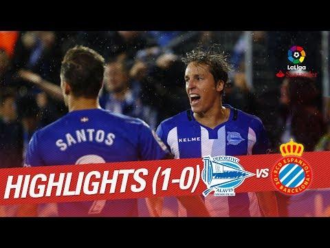 Resumen de Deportivo Alavés vs RCD Espanyol (1-0)