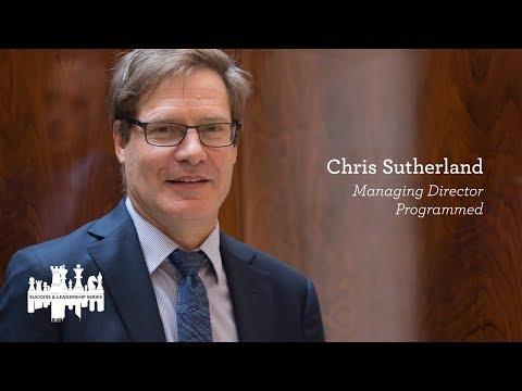 Success & Leadership Series breakfast featuring Chris Sutherland, Managing Director of Programmed