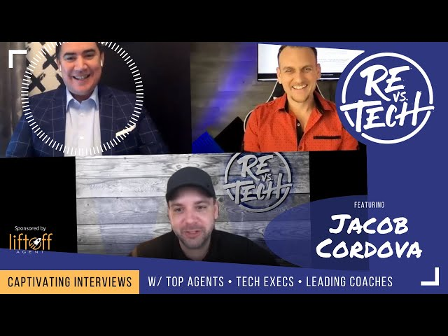 Transitioning from The Marine Corps to Real Estate Agent with Jacob Cordova | REvsTech | Ep#72