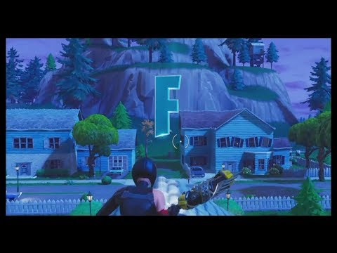 Fortnite: FORTNITE Letter Locations (Pleasant Park)