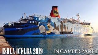 ISOLA D'ELBA 1 PARTE IN CAMPER E NON
