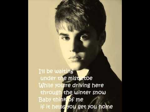 Home this Christmas-Justin Bieber feat. The Band Perry (Lyrics)