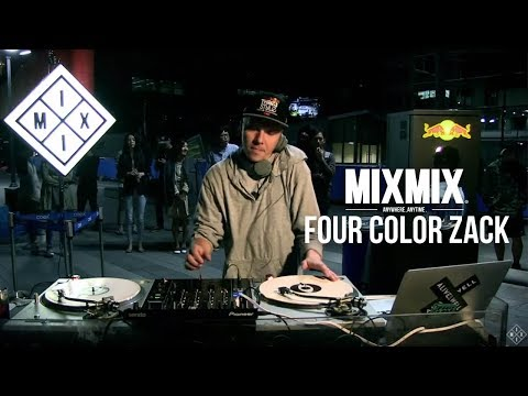 MIXMIX054 Four Color Zack