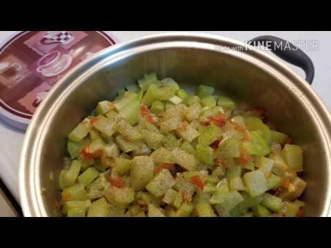 Chayotes Guisados Fácil de Preparar(Mimis VM)