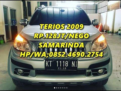 0040 Dijual Mobil Daihatsu Terios Tx Elegat Manual Tahun 2009 Samarinda HP WA08524690
