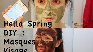 Hello Spring *** DIY : Masques Visage ** قناع تصفية البشرة