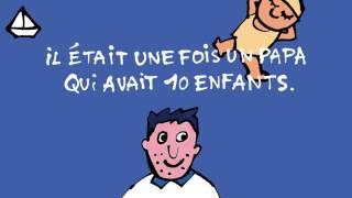 bande-annonce 10 enfants et 1 papa Bleue a de l'imagination