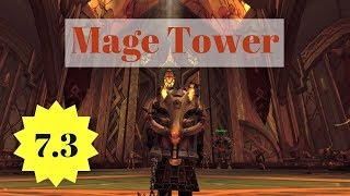 Protection Warrior Mage Tower: Guide and Commentary