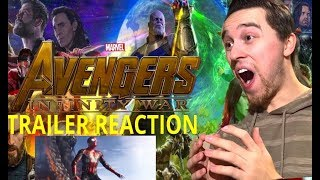 Avengers: Infinity War Official Trailer Reaction (YES I CRIED)