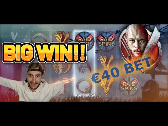 BIG WIN! VIKINGS NETENT BIG WIN - Casino Slotsfrom Casinodaddy LIVE STREAM